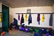 7 December 2019; Wexford manager Paul Galvin before the 2020 O'Byrne Cup Round 1 match between Wexford and Westmeath at St. Patrick's Park in Enniscorthy, Wexford. Photo by Ray McManus/Sportsfile