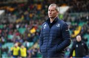 7 December 2019; Leinster senior coach Stuart Lancaster ahead of the Heineken Champions Cup Pool 1 Round 3 match between Northampton Saints and Leinster at Franklins Gardens in Northampton, England. Photo by Ramsey Cardy/Sportsfile