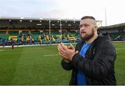 7 December 2019; Andrew Porter of Leinster following the Heineken Champions Cup Pool 1 Round 3 match between Northampton Saints and Leinster at Franklins Gardens in Northampton, England. Photo by Ramsey Cardy/Sportsfile