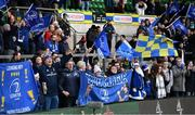 7 December 2019; Leinster supporters following the Heineken Champions Cup Pool 1 Round 3 match between Northampton Saints and Leinster at Franklins Gardens in Northampton, England. Photo by Ramsey Cardy/Sportsfile