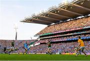 14 September 2019; Eoin Murchan of Dublin shoots to score his side's first goal during the GAA Football All-Ireland Senior Championship Final Replay match between Dublin and Kerry at Croke Park in Dublin. Photo by Sam Barnes/Sportsfile