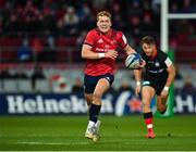 7 December 2019; Mike Haley of Munster makes a break during the Heineken Champions Cup Pool 4 Round 3 match between Munster and Saracens at Thomond Park in Limerick. Photo by Seb Daly/Sportsfile