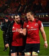 7 December 2019; James Cronin and Arno Botha of Munster after the Heineken Champions Cup Pool 4 Round 3 match between Munster and Saracens at Thomond Park in Limerick. Photo by Diarmuid Greene/Sportsfile