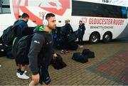 8 December 2019; Caolin Blade of Connacht arrives ahead of the Heineken Champions Cup Pool 5 Round 3 match between Gloucester and Connacht at Kingsholm Stadium in Gloucester, England. Photo by Ramsey Cardy/Sportsfile