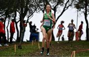 8 December 2019; Roisin Flanagan of Ireland competing in the Women's U23 event during the European Cross Country Championships 2019 at Bela Vista Park in Lisbon, Portugal. Photo by Sam Barnes/Sportsfile