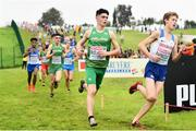8 December 2019; Daragh McElhinney of Ireland competing in the U20 Men's event during the European Cross Country Championships 2019 at Bela Vista Park in Lisbon, Portugal. Photo by Sam Barnes/Sportsfile