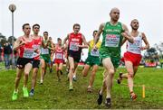 8 December 2019; Kevin Maunsell of Ireland, second from right, competing in the Senior Men's event competing during the European Cross Country Championships 2019 at Bela Vista Park in Lisbon, Portugal. Photo by Sam Barnes/Sportsfile