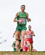 8 December 2019; Conor Bradley of Ireland competing in the Senior Men's event competing during the European Cross Country Championships 2019 at Bela Vista Park in Lisbon, Portugal. Photo by Sam Barnes/Sportsfile