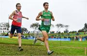 8 December 2019; Eoin Everard of Ireland competing in the Senior Men's event competing during the European Cross Country Championships 2019 at Bela Vista Park in Lisbon, Portugal. Photo by Sam Barnes/Sportsfile
