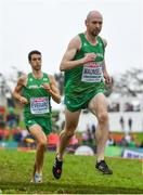 8 December 2019; Kevin Maunsell of Ireland competing in the Senior Men's event competing during the European Cross Country Championships 2019 at Bela Vista Park in Lisbon, Portugal. Photo by Sam Barnes/Sportsfile