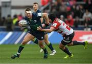 8 December 2019; Tom McCartney of Connacht is tackled by Ben Morgan of Gloucester during the Heineken Champions Cup Pool 5 Round 3 match between Gloucester and Connacht at Kingsholm Stadium in Gloucester, England. Photo by Ramsey Cardy/Sportsfile