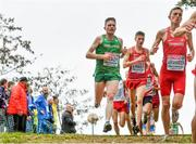 8 December 2019; Liam Brady of Ireland competing in the Senior Men's event competing during the European Cross Country Championships 2019 at Bela Vista Park in Lisbon, Portugal. Photo by Sam Barnes/Sportsfile