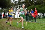 8 December 2019; Fionnuala McCormack of Ireland competing in the Senior Women's event during the European Cross Country Championships 2019 at Bela Vista Park in Lisbon, Portugal. Photo by Sam Barnes/Sportsfile