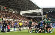 7 December 2019; A general view during the Heineken Champions Cup Pool 1 Round 3 match between Northampton Saints and Leinster at Franklins Gardens in Northampton, England. Photo by Ramsey Cardy/Sportsfile