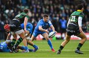 7 December 2019; Luke McGrath of Leinster during the Heineken Champions Cup Pool 1 Round 3 match between Northampton Saints and Leinster at Franklins Gardens in Northampton, England. Photo by Ramsey Cardy/Sportsfile