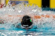 8 December 2019; Shane Ryan of Ireland competing in the Men 4x50m Medley Relay Heats during day five of the European Short Course Swimming Championships 2019 at Tollcross International Swimming Centre in Glasgow, Scotland. Photo by Joseph Kleindl/Sportsfile