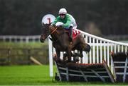 8 December Burlesque Queen, with James O'Sullivan up, during the Carmel Colgan Memorial/Blackrock Insurance Supporting Kilmacud Crokes Handicap Hurdle at Punchestown Racecourse in Kildare. Photo by Harry Murphy/Sportsfile