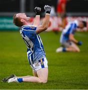 8 December 2019; Darren O'Reilly of Ballyboden St Endas celebrates following the AIB Leinster GAA Football Senior Club Championship Final between Eire Óg Carlow and Ballyboden St. Enda's GAA at MW Hire O'Moore Park in Portlaoise, Co. Laois. Photo by David Fitzgerald/Sportsfile