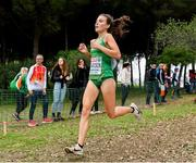 8 December 2019; Aoibhe Richardson of Ireland competing in the Senior Women's event  during the European Cross Country Championships 2019 at Bela Vista Park in Lisbon, Portugal. Photo by Sam Barnes/Sportsfile