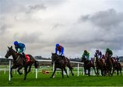 8 December 2019; A general view of runners and riders during the Join The Best Club In Town Punchestown Members Handicap Steeplechase at Punchestown Racecourse in Kildare. Photo by Harry Murphy/Sportsfile