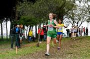 8 December 2019; Fionnuala McCormack of Ireland competing in the Senior Men's event during the European Cross Country Championships 2019 at Bela Vista Park in Lisbon, Portugal. Photo by Sam Barnes/Sportsfile