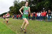 8 December 2019; Una Britton of Ireland competing in the Senior Women's event during the European Cross Country Championships 2019 at Bela Vista Park in Lisbon, Portugal. Photo by Sam Barnes/Sportsfile