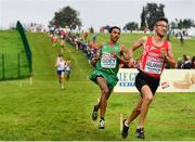 8 December 2019; Efrem Gidey of Ireland competing in the Men's U20 event during the European Cross Country Championships 2019 at Bela Vista Park in Lisbon, Portugal. Photo by Sam Barnes/Sportsfile