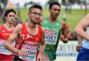 8 December 2019; Efrem Gidey of Ireland, centre, competing in the Men's U20 event during the European Cross Country Championships 2019 at Bela Vista Park in Lisbon, Portugal. Photo by Sam Barnes/Sportsfile