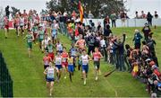 8 December 2019; A general view during the Men's U20 event during the European Cross Country Championships 2019 at Bela Vista Park in Lisbon, Portugal. Photo by Sam Barnes/Sportsfile