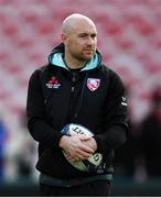 8 December 2019; Willi Heinz of Gloucester ahead of the Heineken Champions Cup Pool 5 Round 3 match between Gloucester and Connacht at Kingsholm Stadium in Gloucester, England. Photo by Ramsey Cardy/Sportsfile