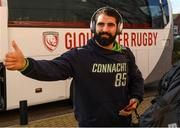 8 December 2019; Peter McCabe of Connacht ahead of the Heineken Champions Cup Pool 5 Round 3 match between Gloucester and Connacht at Kingsholm Stadium in Gloucester, England. Photo by Ramsey Cardy/Sportsfile
