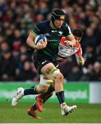 8 December 2019; Eoghan Masterson of Connacht during the Heineken Champions Cup Pool 5 Round 3 match between Gloucester and Connacht at Kingsholm Stadium in Gloucester, England. Photo by Ramsey Cardy/Sportsfile