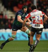 8 December 2019; Ultan Dillane of Connacht during the Heineken Champions Cup Pool 5 Round 3 match between Gloucester and Connacht at Kingsholm Stadium in Gloucester, England. Photo by Ramsey Cardy/Sportsfile