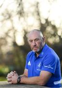 9 December 2019; Scrum coach Robin McBryde poses for a portrait at a Leinster Rugby Press Conference at Leinster Rugby Headquarters in Belfield, Dublin. Photo by Ramsey Cardy/Sportsfile