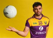 9 December 2019; Zurich begin sponsorship of Wexford GAA with launch of new jersey. Pictured is Wexford footballer Conor Devitt at Zurich Insurance in Drinagh, Co. Wexford. Photo by Eóin Noonan/Sportsfile