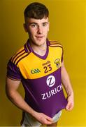 9 December 2019; Zurich begin sponsorship of Wexford GAA with launch of new jersey. Pictured is Wexford footballer Niall Hughes at Zurich Insurance in Drinagh, Co. Wexford. Photo by Eóin Noonan/Sportsfile