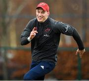 10 December 2019; Mike Haley during a Munster Rugby Training at University of Limerick in Limerick. Photo by Matt Browne/Sportsfile