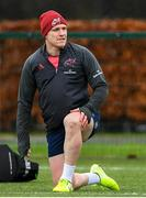 10 December 2019; Rory Scannell during a Munster Rugby Training at University of Limerick in Limerick. Photo by Matt Browne/Sportsfile