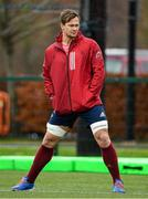 10 December 2019; Arno Botha during a Munster Rugby Training at University of Limerick in Limerick. Photo by Matt Browne/Sportsfile