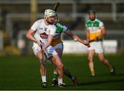 30 November 2019; Aran Kelly of Kildare in action against Aidan Treacy of Offaly during the Kehoe Cup Round 1 match between Offaly and Kildare at St Brendan's Park in Birr, Co Offaly. Photo by Piaras Ó Mídheach/Sportsfile