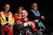 11 December 2019; Former Dublin football manager Jim Gavin at his conferring with the Doctorate of Philosophy by DCU at the Helix, DCU, in Dublin. Photo by Piaras Ó Mídheach/Sportsfile