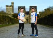 11 December 2019; TQS Integration announced their sponsorship of Waterford GAA for 2020 at TQS Integration Systems in Lismore, Waterford. In attendance is Waterford footballers Conor Murray and Paudie Hunt.  Photo by Matt Browne/Sportsfile