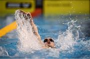 12 December 2019; Cillian Melly of the National Centre Limerick competes in the heats of the Men's 200m Individual Medley event during Day One of the Irish Short Course Swimming Championships at the National Aquatic Centre in Abbotstown, Dublin. Photo by Stephen McCarthy/Sportsfile