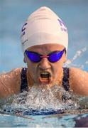 12 December 2019; Nicole Turner of National Aquatics Centre Swimming Club competes in the heats of the Women's 200m Individual Medley event during Day One of the Irish Short Course Swimming Championships at the National Aquatic Centre in Abbotstown, Dublin. Photo by Stephen McCarthy/Sportsfile