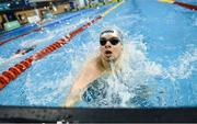 12 December 2019; Cillian Melly of the National Training Centre competes in the heats of the Men's 200m Butterfly event during Day One of the Irish Short Course Swimming Championships at the National Aquatic Centre in Abbotstown, Dublin. Photo by Stephen McCarthy/Sportsfile