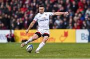 7 December 2019; John Cooney of Ulster during the Heineken Champions Cup Pool 3 Round 3 match between Ulster and Harlequins at Kingspan Stadium in Belfast. Photo by Oliver McVeigh/Sportsfile