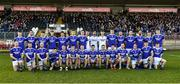 1 December 2019; The Naomh Conail squad before the AIB Ulster GAA Football Senior Club Championship Final match between Kilcoo and Naomh Conaill at Healy Park in Omagh, Tyrone. Photo by Oliver McVeigh/Sportsfile