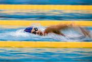 13 December 2019; Danielle Farrell of Sligo Swimming Club competes in the heats of the Women's 800m Freestyle event during Day Two of the Irish Short Course Swimming Championships at the National Aquatic Centre in Abbotstown, Dublin. Photo by Harry Murphy/Sportsfile