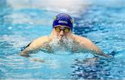 13 December 2019; Matko Mrakovcic of UCD Swimming Club competes in the heats of the Men's 100m Breaststroke event during Day Two of the Irish Short Course Swimming Championships at the National Aquatic Centre in Abbotstown, Dublin. Photo by Harry Murphy/Sportsfile