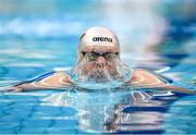 13 December 2019; Liam Doyle of NCL Dolphin competes in the heats of the Men's 100m Breaststroke event during Day Two of the Irish Short Course Swimming Championships at the National Aquatic Centre in Abbotstown, Dublin. Photo by Harry Murphy/Sportsfile